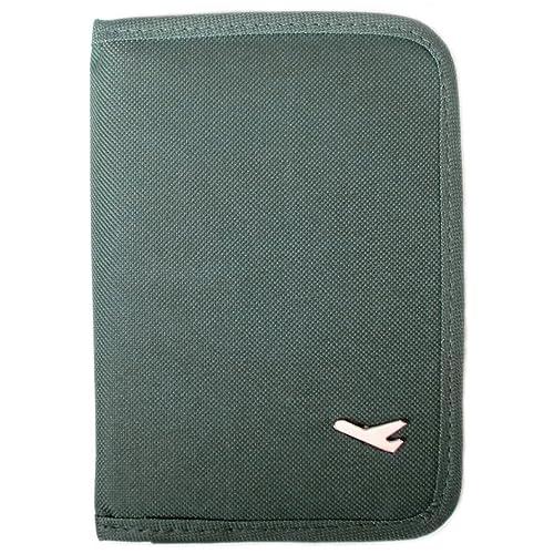 Amazon | 【パスポートケース】 トラベルグッズ 便利グッズ グレー【9701A】 | トラベルアクセサリ