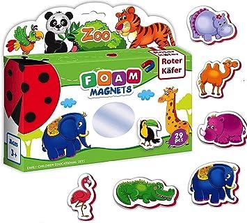 Kühlschrankmagnete, magnetspielzeug Kinder Zootiere figuren