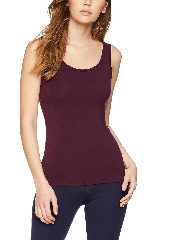 Iris & Lilly Camiseta Interior Térmica Ligera de Tirantes para Mujer, Pack de 2: Amazon.es: Ropa y accesorios