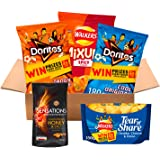 Walkers, Doritos and Sensations Crisps and Snacks Party Box (5 Bags for Sharing)