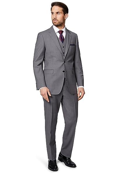 Ermenegildo Zegna Cloth - Abito - Uomo Grau 52  Amazon.it  Abbigliamento 682219048f6