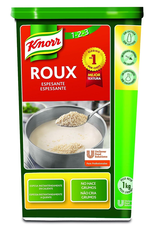 Knorr - Roux - Preparado alimenticio deshidratado para vegetarianos - 1 g: Amazon.es: Alimentación y bebidas