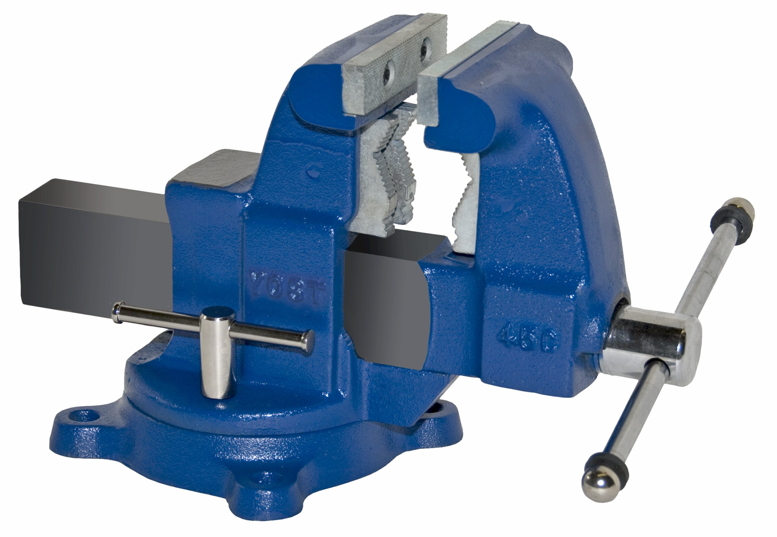 Yost Vises 45C 4.5'' Tradesman Series Industrial Grade  Bench Vise Made in USA by Yost Tools