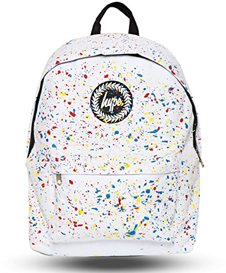 Hype Speckle Backpack (White Primary)  Amazon.co.uk  Clothing 3661465c65