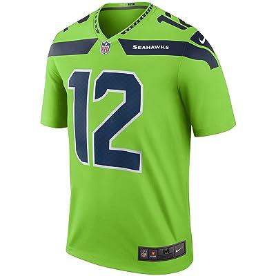 brand new 234ab 3d663 Seattle Seahawks #12 Fan Color Rush Neon Green Nike Legend ...