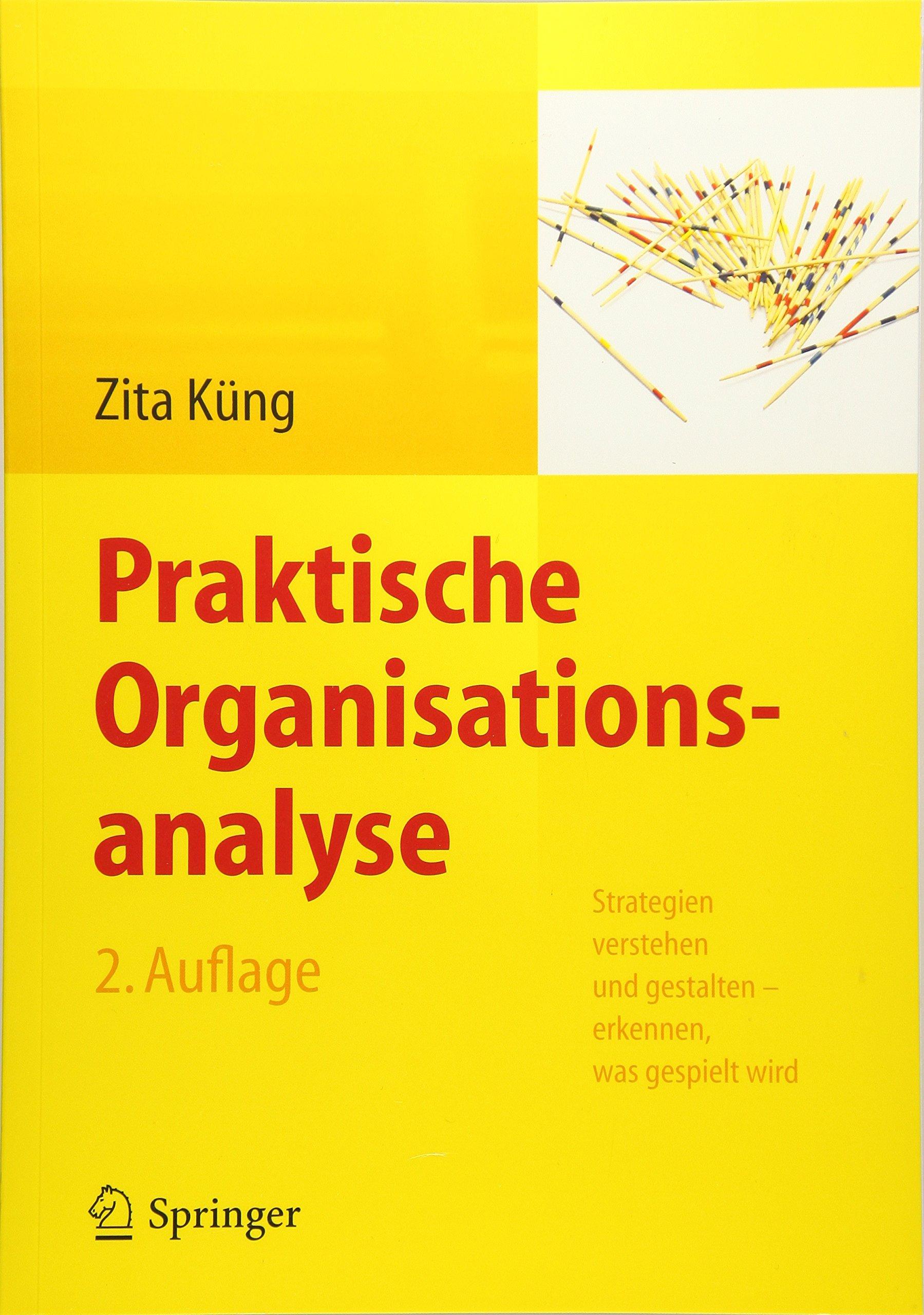 Praktische Organisationsanalyse: Strategien verstehen und gestalten – erkennen, was gespielt wird