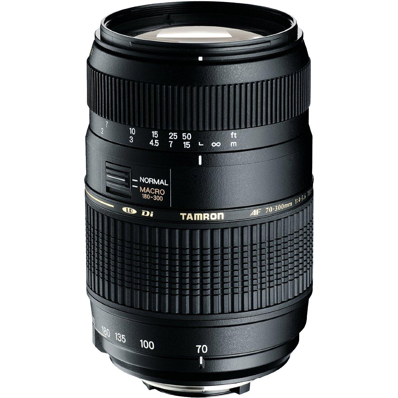 Tamron AF 70-300mm F/4-5.6 Di LD Macro 1:2 Nikon+Motor: Amazon.co ...