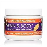 Host Defense, MycoBotanicals Brain & Body Mushroom Powder, Support for Brain, Heart and Digestive Health, Certified Organic Supplement, 3.5 oz (33 Servings)