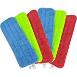 Reveal Mop Cleaning Pad Fit All Spray Mops & Reveal Mops Washable (2 Set A (6pcs))