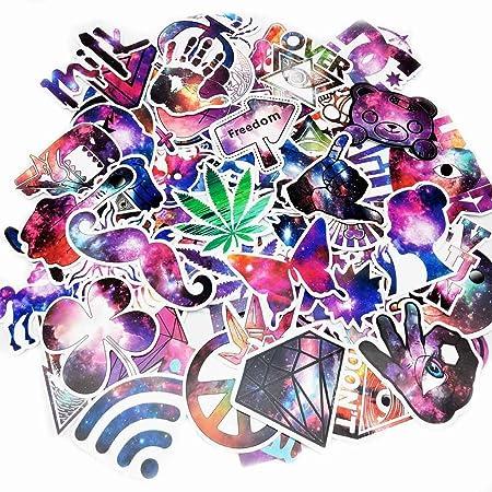 Formwin Graffiti Aufkleber Vinyls Aufkleber f?r Laptops Helm Skateboard Bike Gep?ck Computer Telefon Motorrad Fahrrad Cars Wa