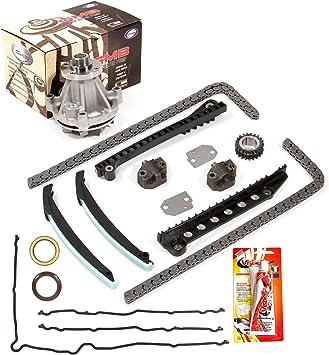 Fit 97-02 Ford E-150 E-250 E-350 5.4L SOHC Timing Chain Kit-no gears Water Pump