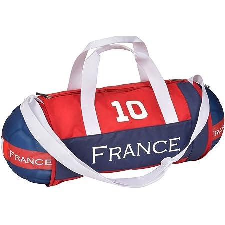 Bolsa de balón de fútbol de Francia azul blanco y rojo bandolera ...
