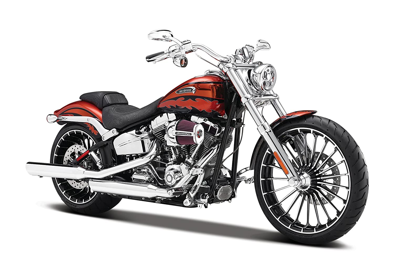 Maisto Modelo Modelo de exposici/ón Motocicleta Harley Davidson CVO 01:12 Breakout 2014 532 327