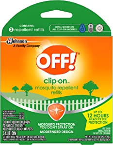 OFF! Clip On Refills (2 Count (Pack of 5))