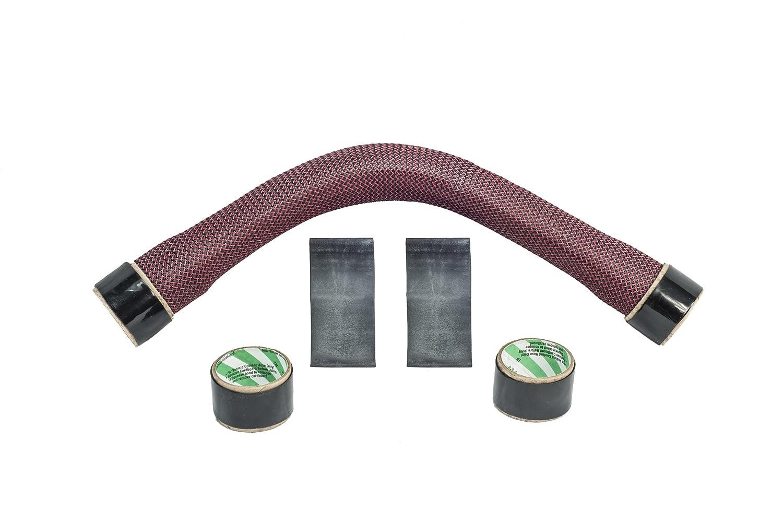 Hose Candy 515030005 Hose Bone Blue//Black 24 Carbon Fiber Smaller Diameter Radiator Hose