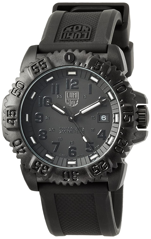 [ルミノックス]LUMINOX 腕時計 ネイビーシールズ カラーマーク 日本限定 ブラックアウト 3051BlackOut メンズ [正規輸入品] B0030ZRXG6