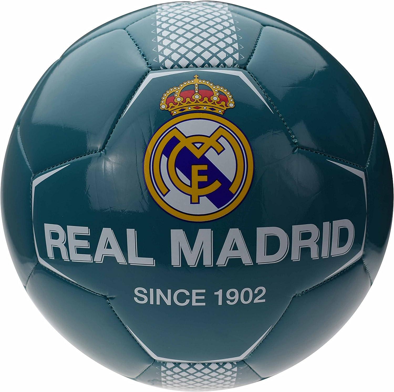 Real Madride balón de fútbol Azul Mixta niño: Amazon.es: Deportes ...