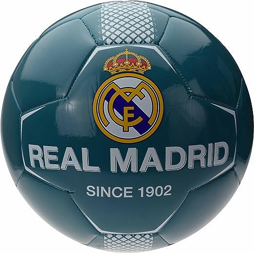 Real Madrid de balón de fútbol Azul Mixta niño: Amazon.es ...
