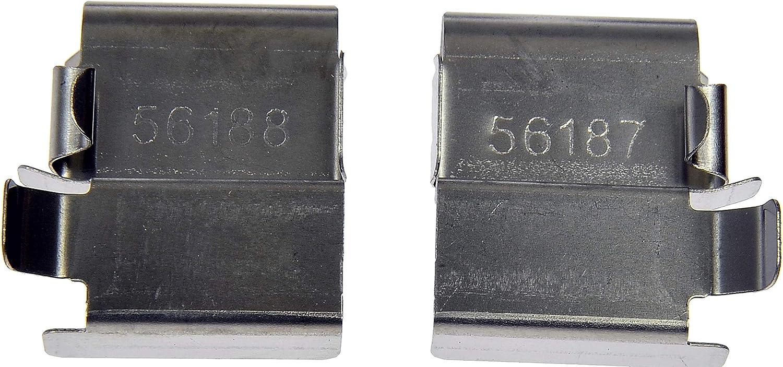 Dorman HW13648 Disc Brake Hardware Kit for Select Mitsubishi Fuso Models