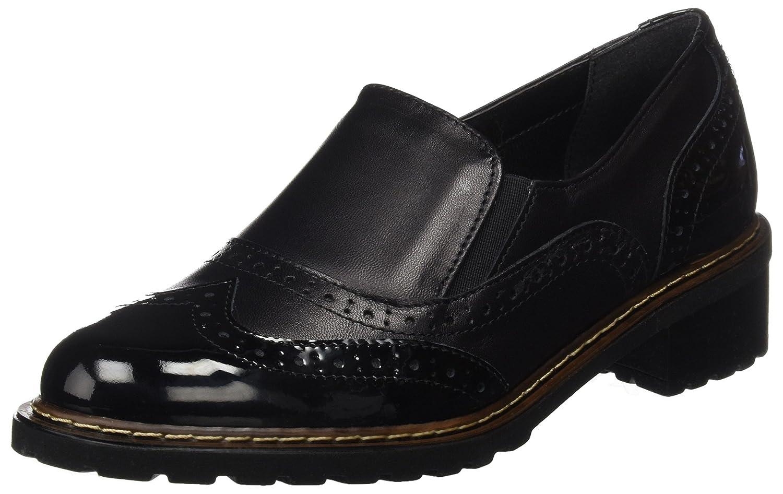 GRÜNLAND Sc3683 - Zapatos - Derby Mujer 37 EU Negro (Nero Nero)