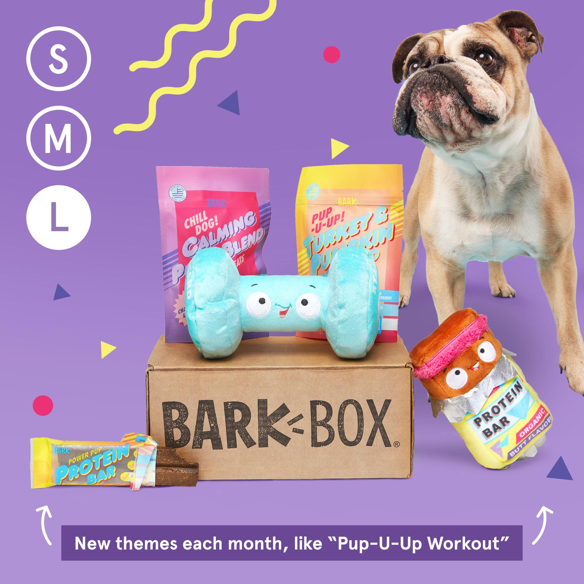 BarkBox Subscription - The Best Toys & Treats For Your Dog Every Month: Large (50lb+)