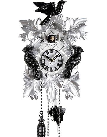 c4e85848cd1b Reloj De Cuco de madera en la selva negra con batteriebetriebenem  quartzwerk y Cuco RUF –