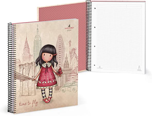 120 Blatt rot Notizbuch A4 Gorjuss 20841049920