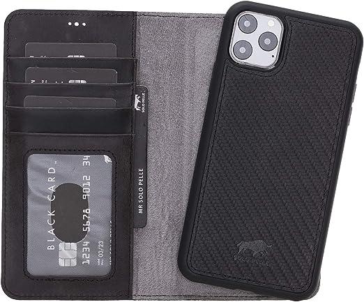 Solo Pelle Lederhülle Kompatibel Für Iphone 11 Pro In Elektronik