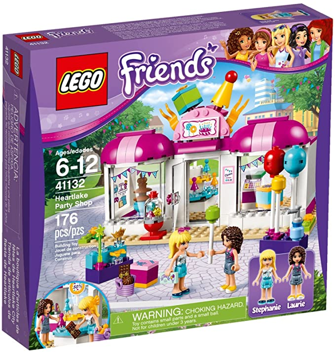 LEGO Friends 41132 - Heartlake Party Charging: Amazon.co.uk: Toys ...