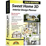 Sweet Home 3D - Interior Design Planner with an additional 1100 3D models and a printed manual, ideal for architects and plan