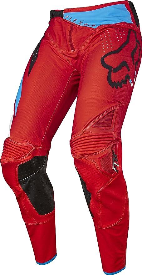 Fox Racing Flexair Seca Pantalones De Motociclismo Para Hombre Color Rojo Amazon Es Coche Y Moto