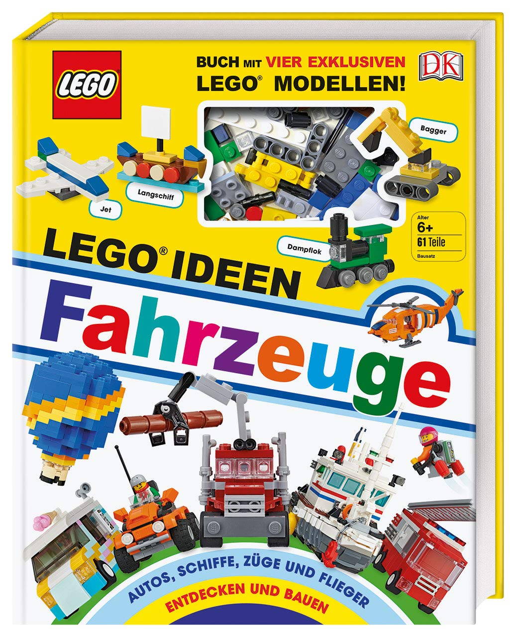 Lego Ideen.Lego Ideen Fahrzeuge Buch Mit Vier Exklusiven Lego