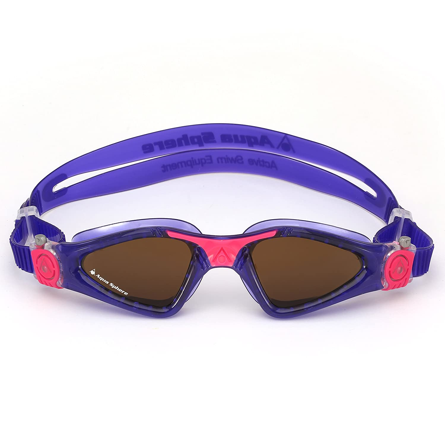 4c146daa1a0 Amazon.com   Aqua Sphere Kayenne Ladies Polarized Lens Swimming Goggles -  Violet Pink   Sports   Outdoors