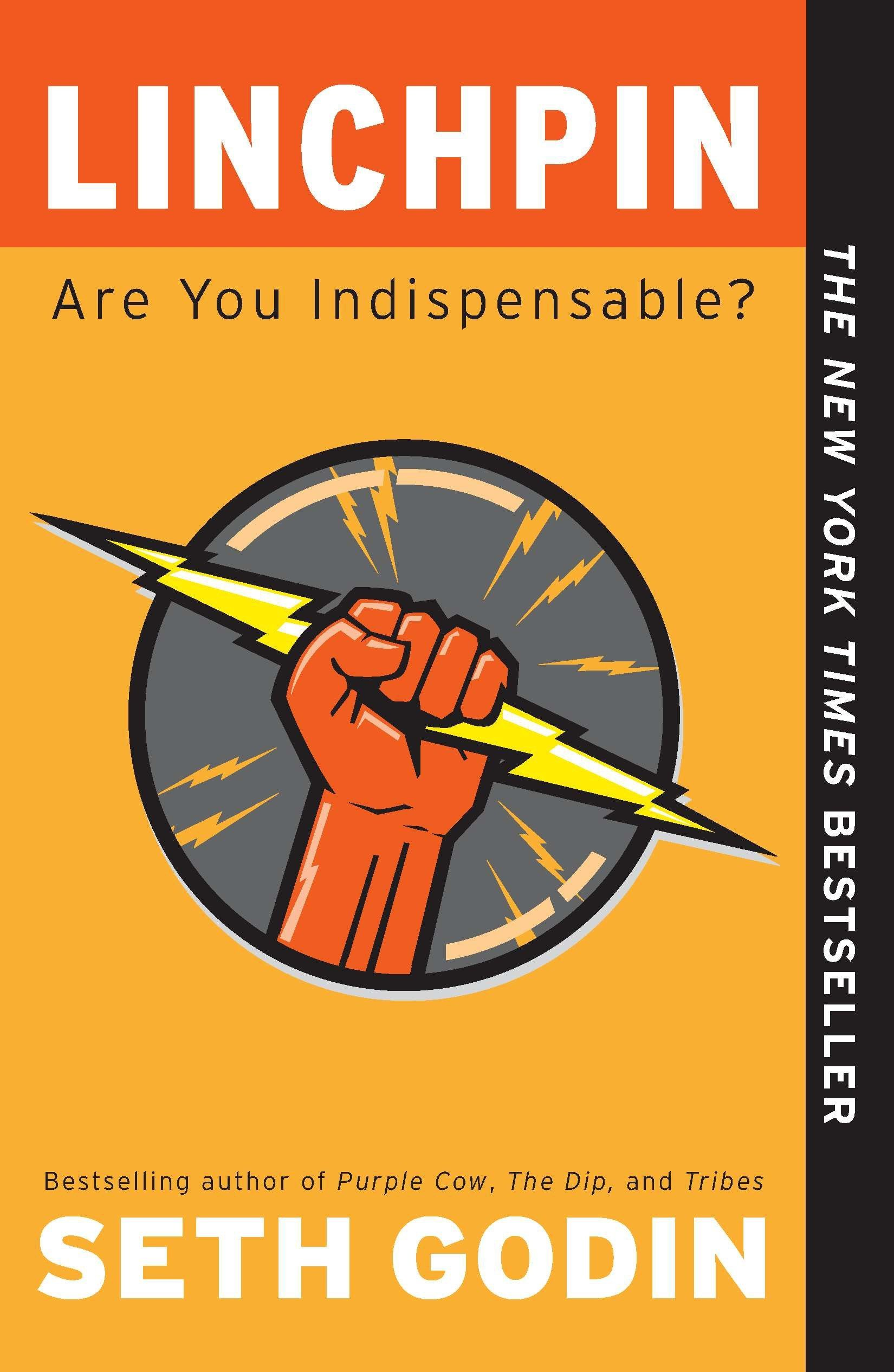 Linchpin: Are You Indispensable?: Godin, Seth: 8601400965627: Amazon.com:  Books