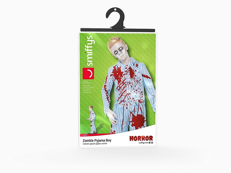Smiffys Disfraz de zombi en pijama para muchacho, color azul (23353L): Amazon.es: Juguetes y juegos