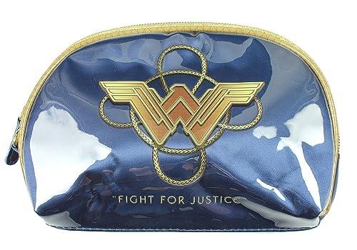 Wonder Woman DC Comics Muñequera Azul bolsa de cosméticos ...