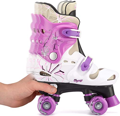 Osprey Girls Adjustable Quad Roller Skates