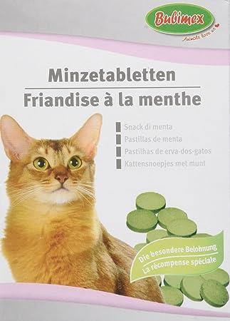 Bubimex Dulces Menta para Gatos 50 g - Juego de 4: Amazon.es: Productos para mascotas