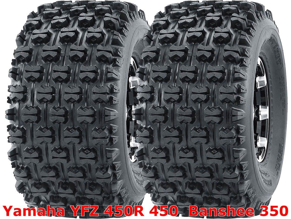 2 WANDA 20x10-9 20x10x9 Yamaha YFZ 450R 450 Banshee 350 rear GNCC Racing Tires