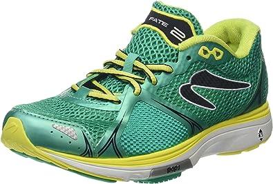 Newton Running Fate II Womens Running Shoe, Zapatillas Mujer, Verde (Green/Yellow), 38 EU: Amazon.es: Zapatos y complementos