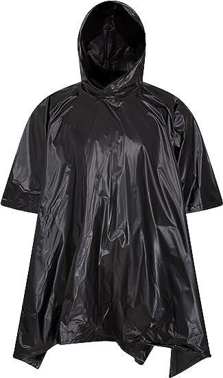 Lightweight Mountain Warehouse Waterproof Packaway Hooded Poncho