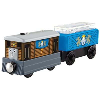 Fisher-Price Thomas & Friends Wooden Railway, Toby's Royal Cargo Car: Toys & Games
