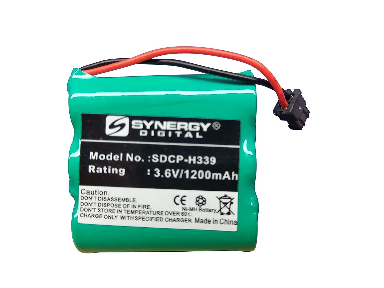 Bateria Ni-MH, 3.6 Volt, 1200 mAh para Panasonic HHR-P401