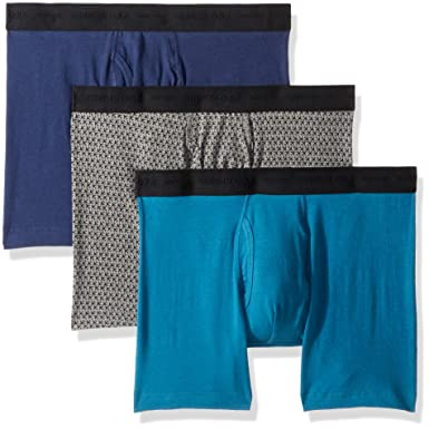 66484f9b5ba492 Kenneth Cole REACTION Men's 3-Pack Boxer Brief at Amazon Men's Clothing  store: