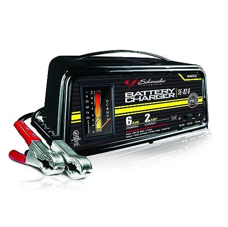 amazon com schumacher se 82 6 dual rate 2 6 amp manual battery rh amazon com Schumacher Battery Charger Schumacher Battery Charger