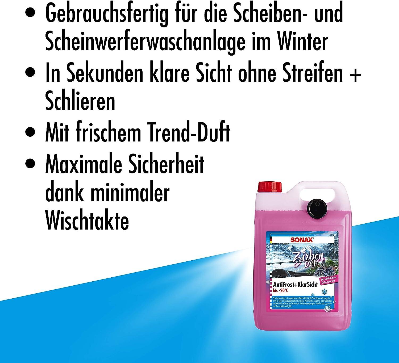 Sonax 01315000 Antifrost Klarsicht Scheibenreiniger Zirbe 20 C Auto
