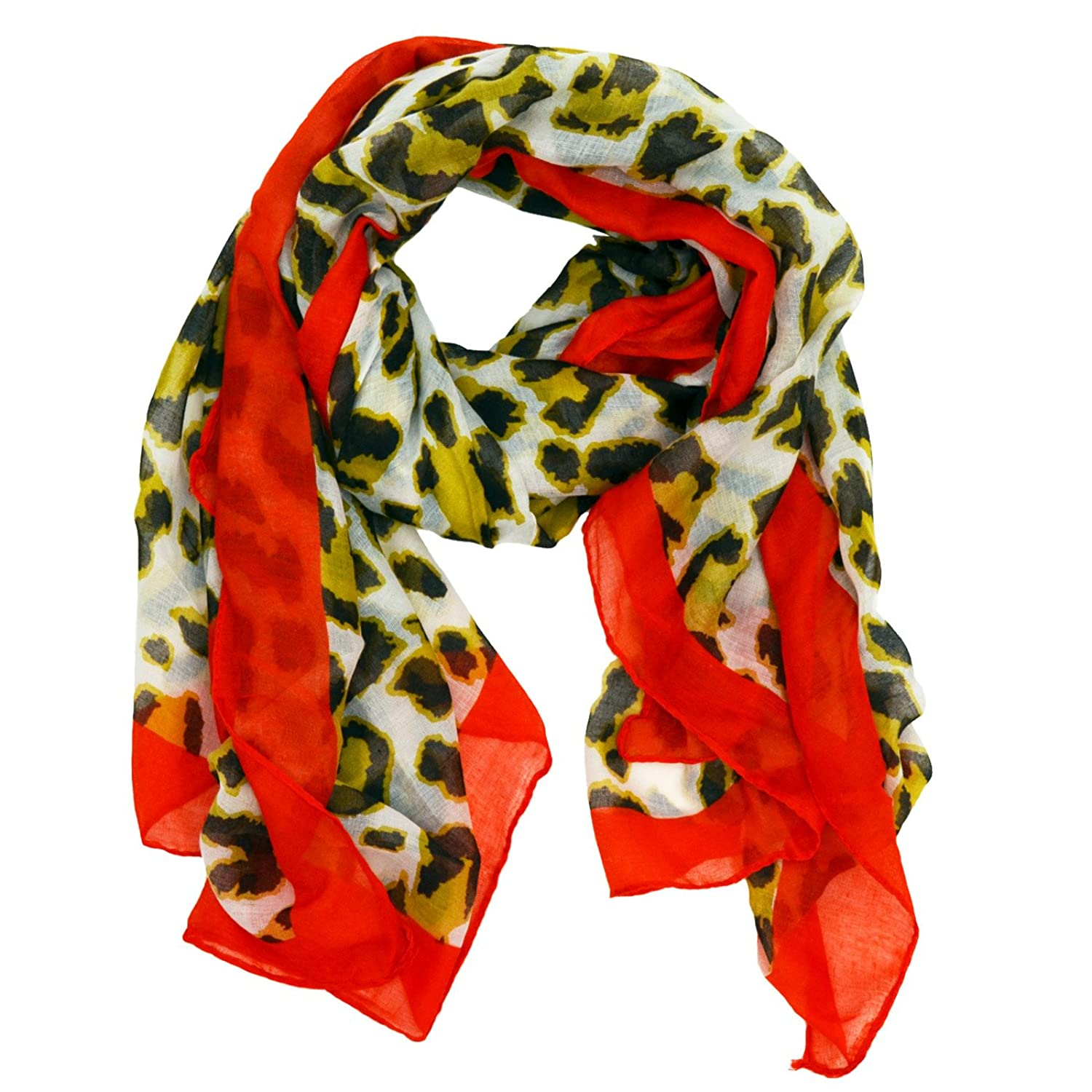 Autumn Animal Print Scarf