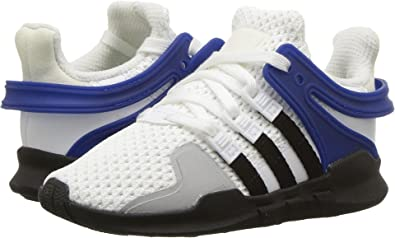 new concept 3a704 5c649 adidas Originals Kids Baby Boys EQT Support ADV (Toddler) WhiteBlack 5 M