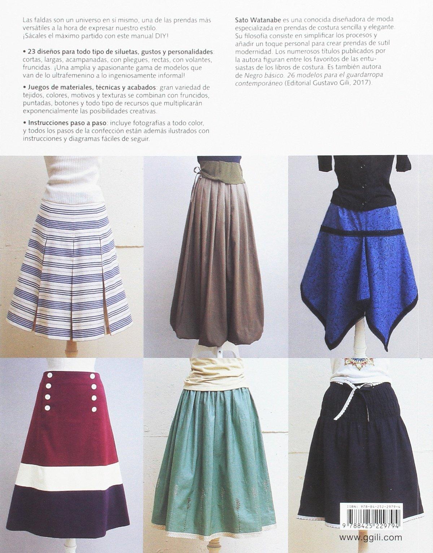 Amazon.fr - Faldas con estilo  23 ejemplos para todo tipo de siluetas -  Sato Watanabe 8e6dfe6b9a02