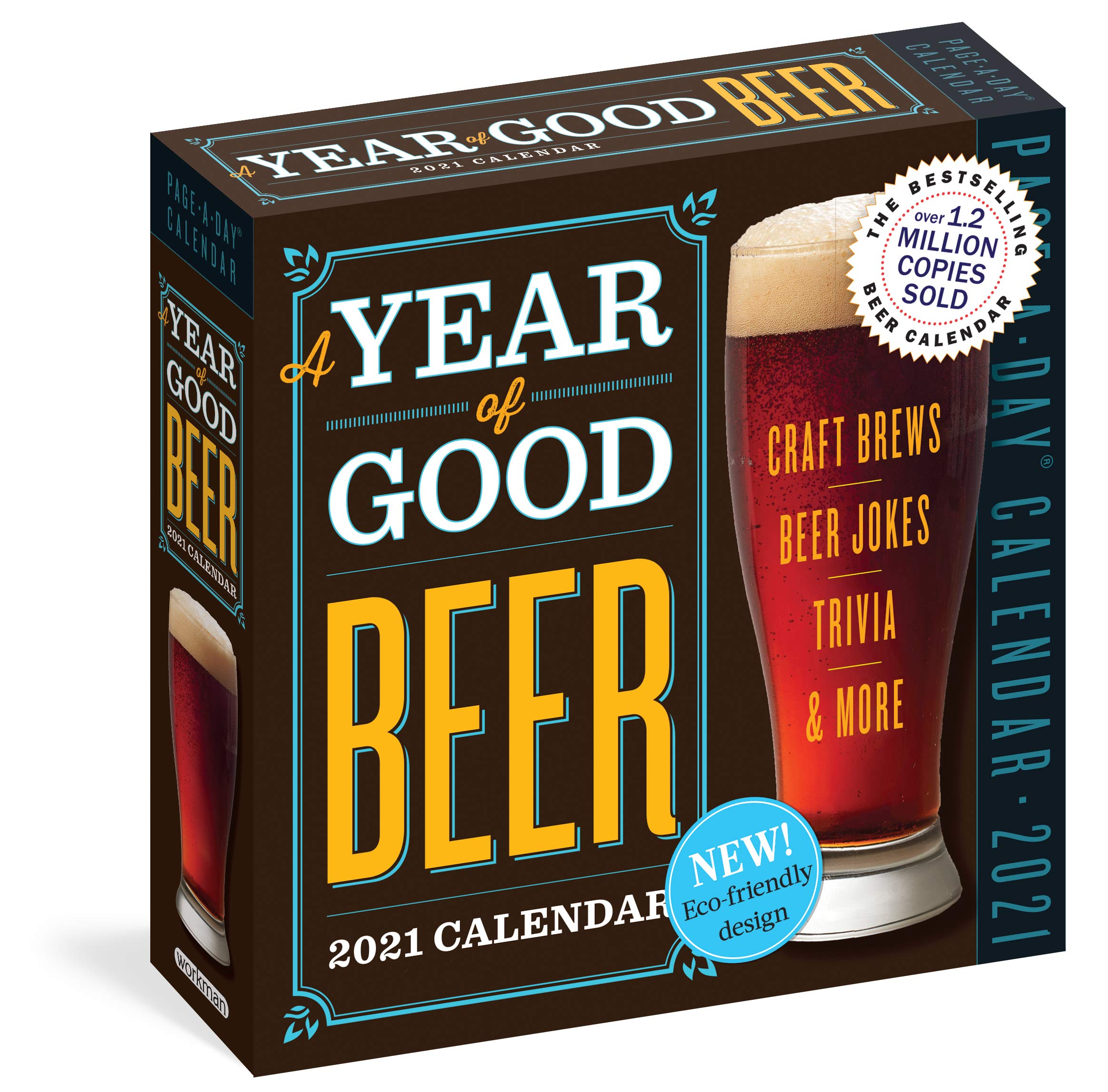 Year Of Good Beer Page A Day Calendar 2021 Turczyn Amahl Workman Publishing 9781523508792 Books